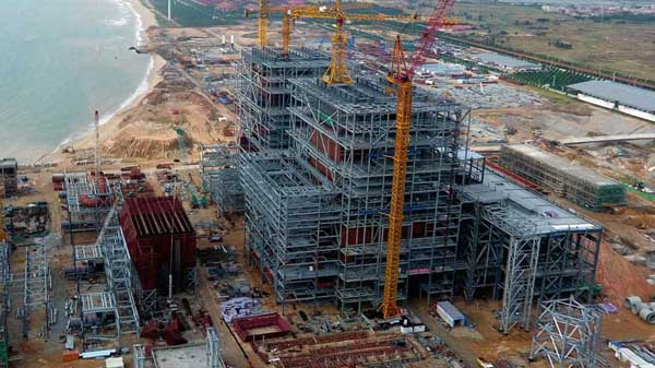 ZINGA er brukt på Guangdong Lufeng Jiahuwan Power Plant i Kina