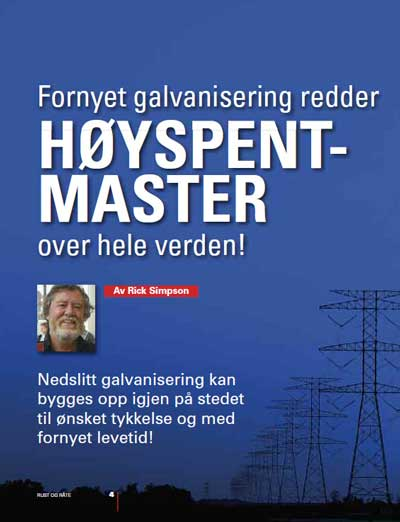Fornyet galvanisering redder master